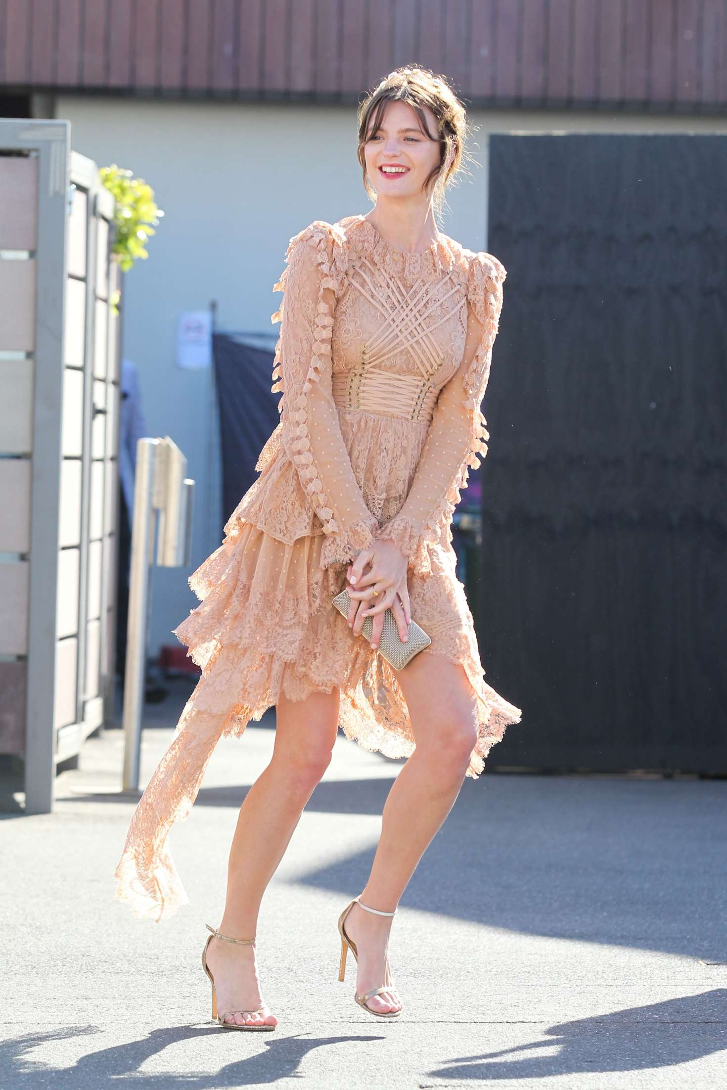 Montana Cox - Oaks Day Races in Melbourne