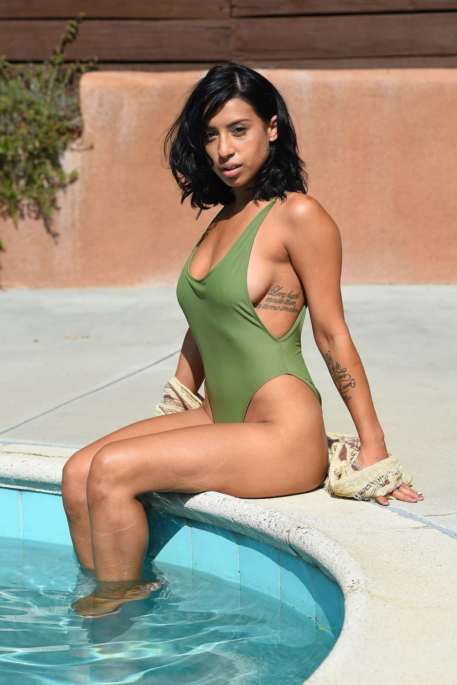 Watch Montia sabbag swimsuit video