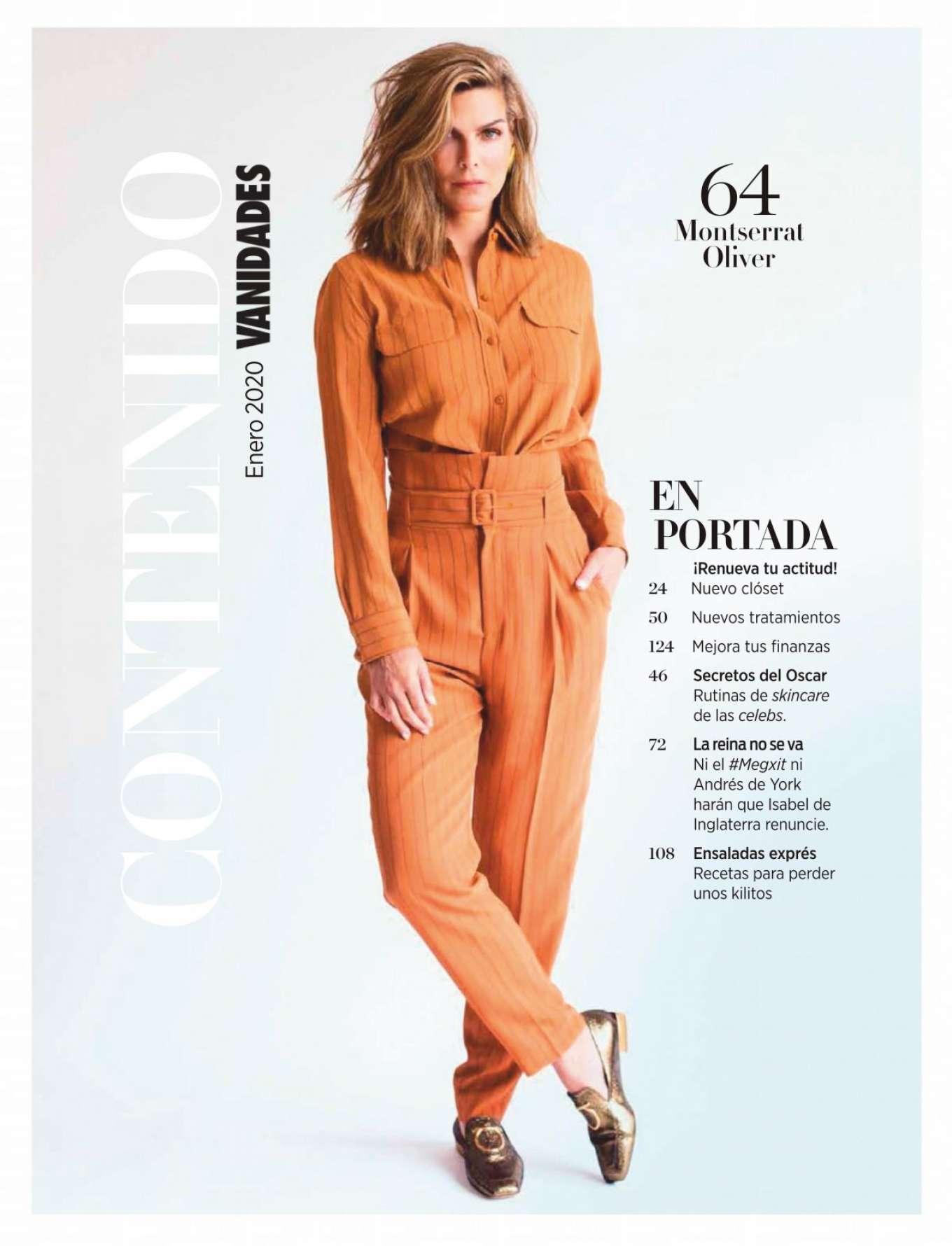 Montserrat Oliver 2020 : Montserrat Oliver – Vanidades Magazine Mexico – January 2020-02