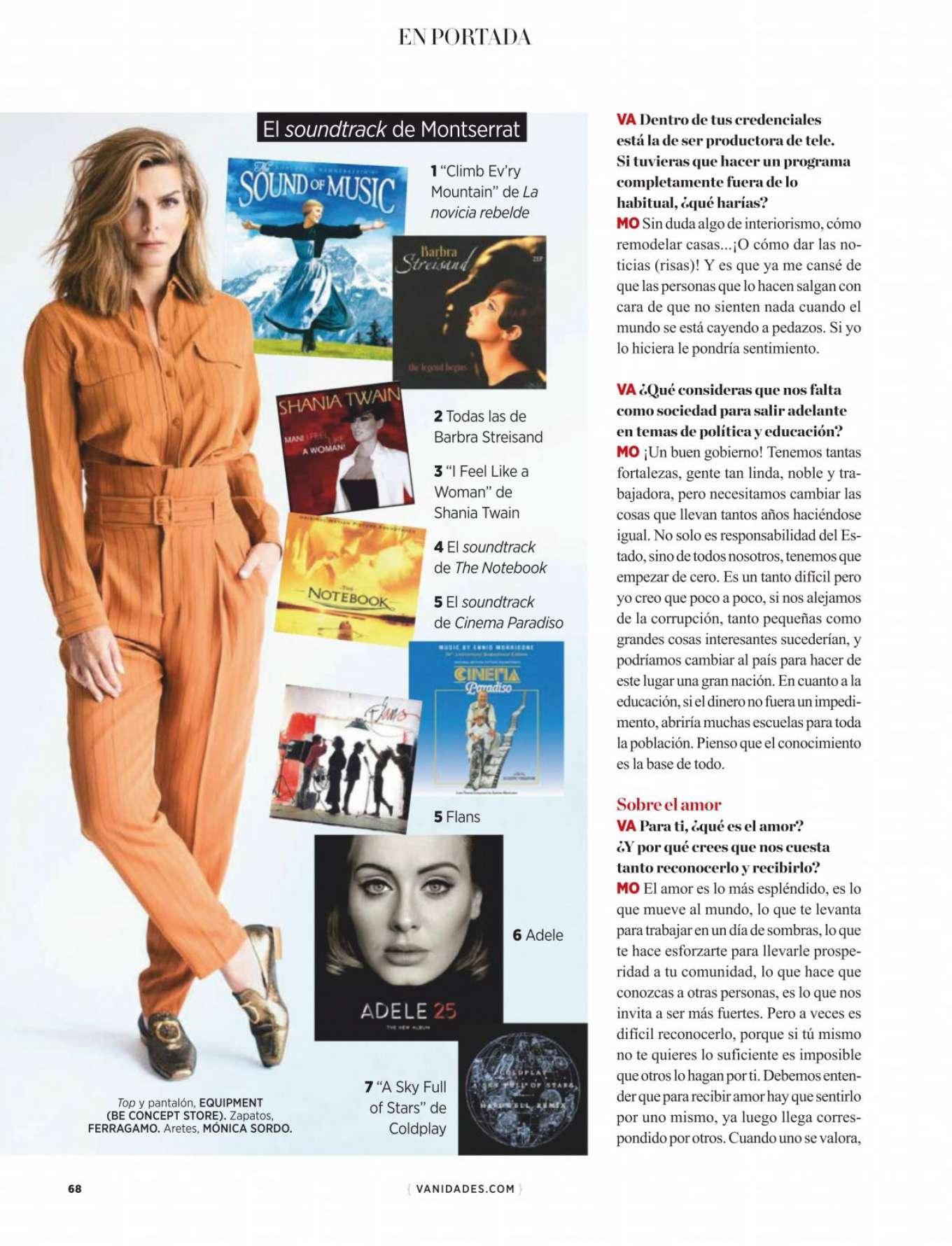 Montserrat Oliver 2020 : Montserrat Oliver – Vanidades Magazine Mexico – January 2020-08