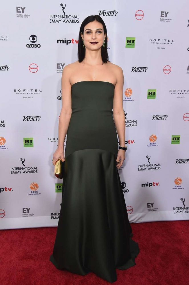 Morena Baccarin – 46th Annual International Emmy Awards in NYC