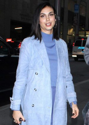 Morena Baccarin - Arriving at NBC's NY Live in New York