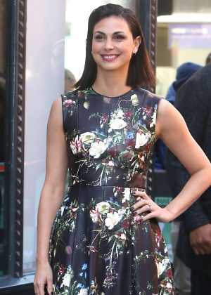Morena Baccarin at AOL Build Speaker Series in New York