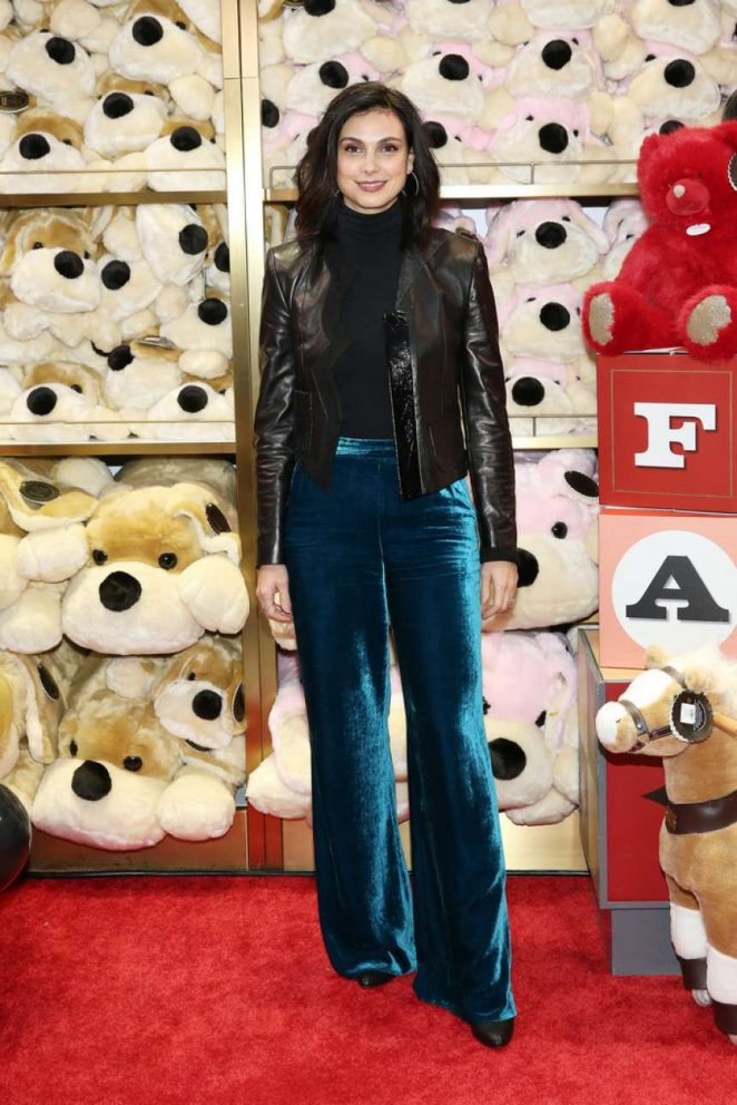 Morena Baccarin - FAO Schwarz Grand Opening Event in NYC