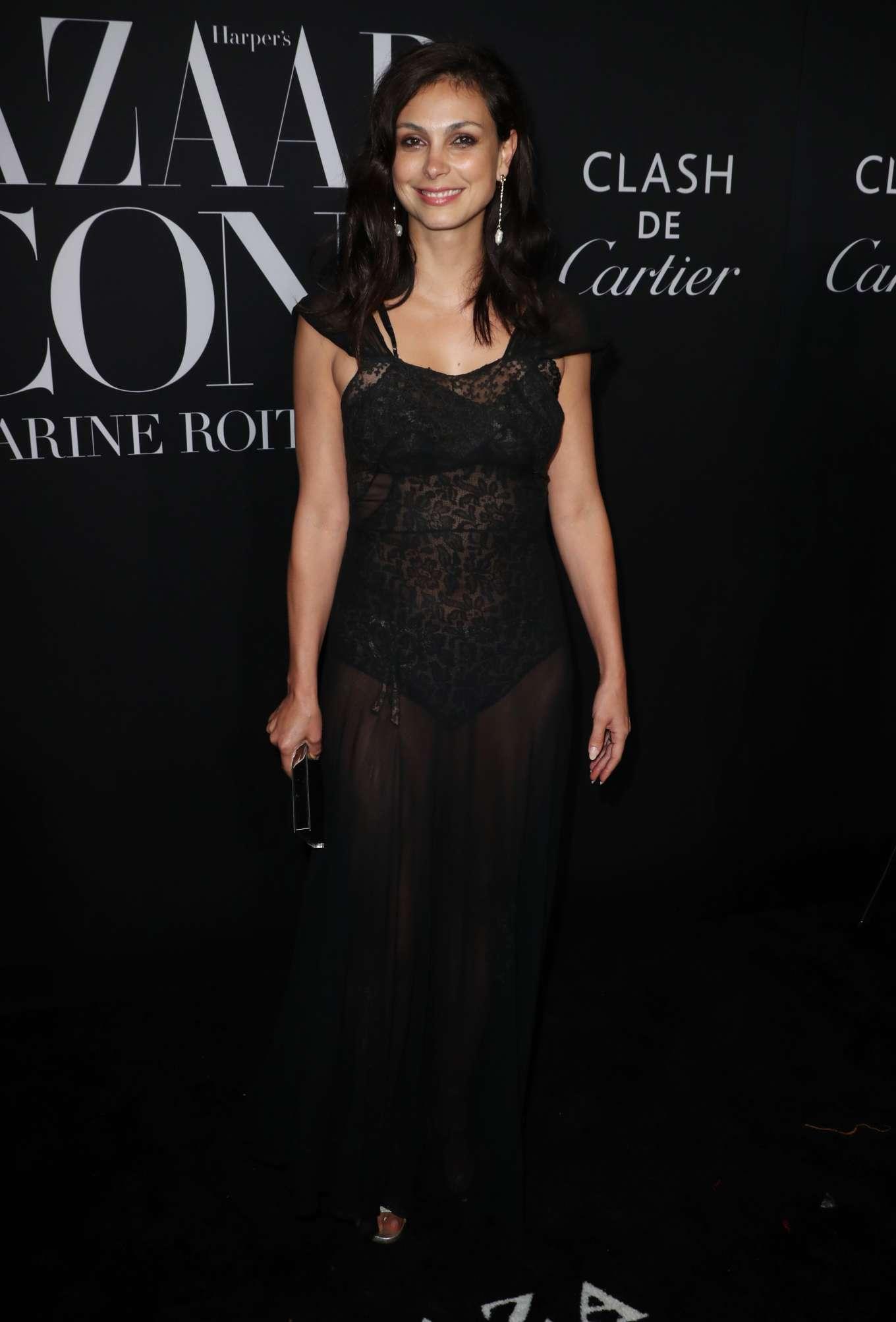 Morena Baccarin - Harper's BAZAAR Celebrates 'ICONS By Carine Roitfeld' in NYC