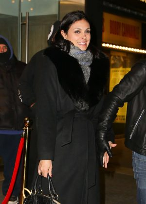 Morena Baccarin - Leaving Feinstein's/54 Below in NYC