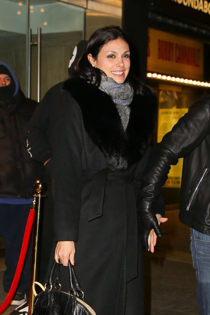 Morena Baccarin – Leaving Feinstein's/54 Below in NYC