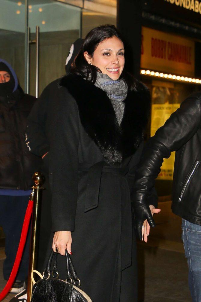 Morena Baccarin - Leaving Feinstein's/54 Below in NYC