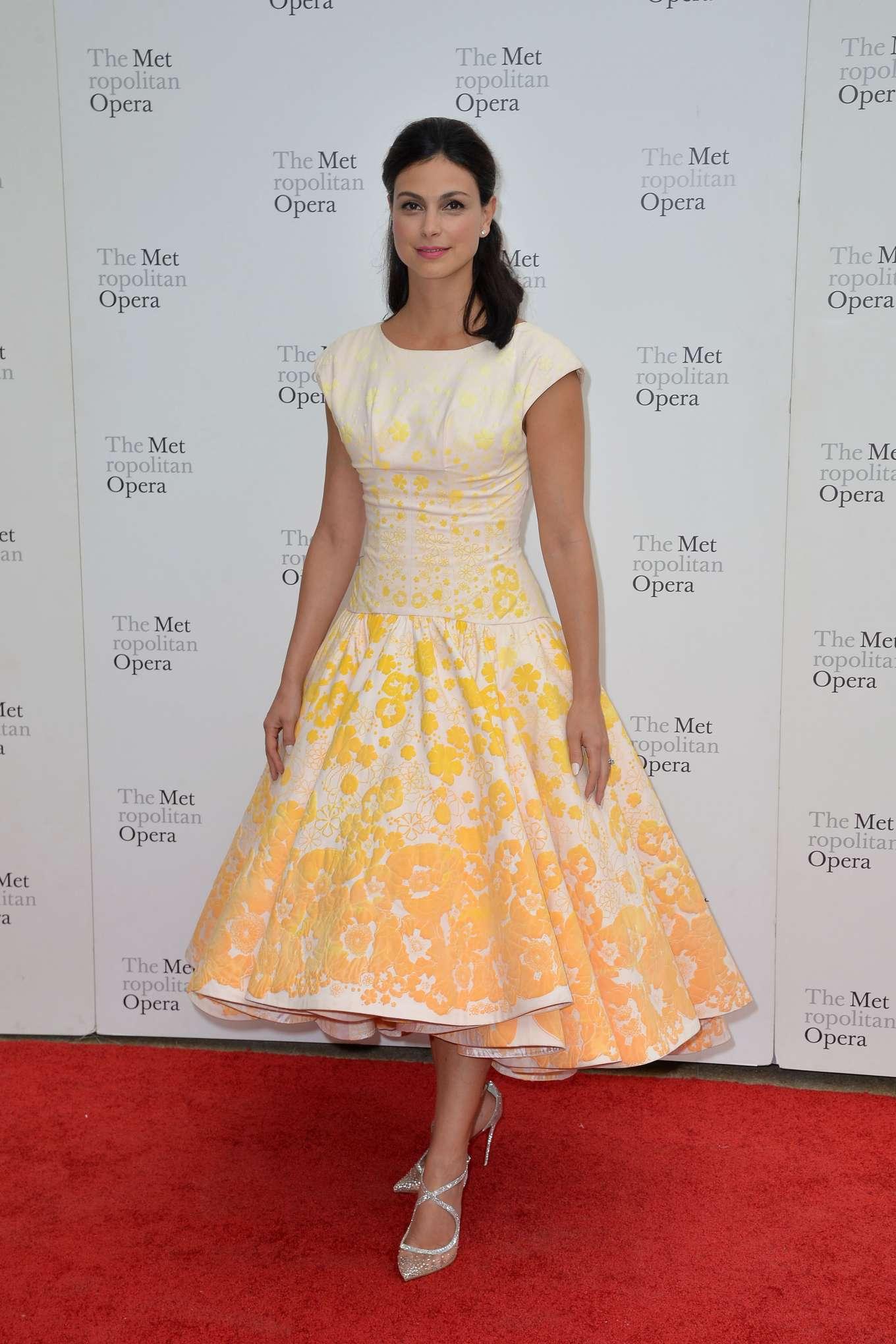 Morena Baccarin 2019 : Morena Baccarin – Metropolitan Opera 2019 Opening Night Gala-02