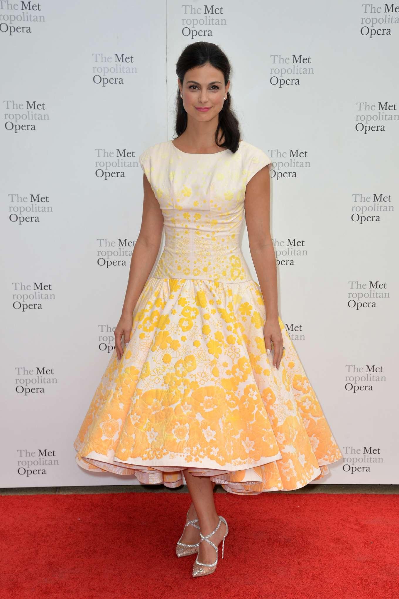 Morena Baccarin - Metropolitan Opera 2019 Opening Night Gala in New York