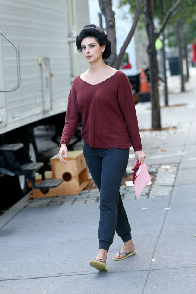 Morena Baccarin Out in New York