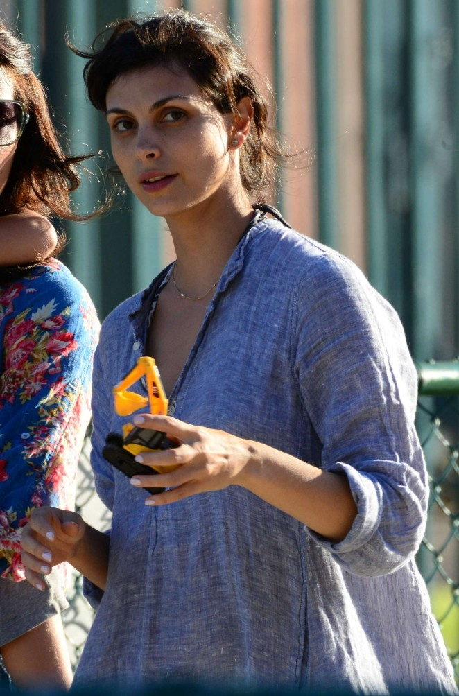 Morena Baccarin out in Venice