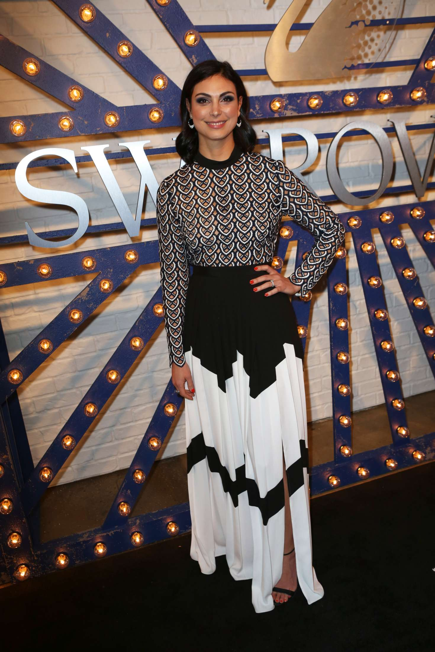 Morena Baccarin 2018 : Morena Baccarin: Swarovski Times Square Store Party -05