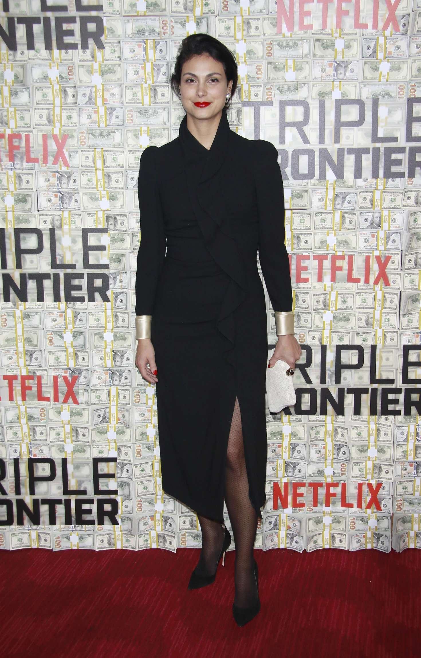 Morena Baccarin - 'Triple Frontier' Premiere in New York