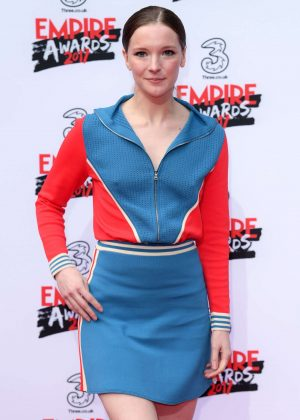 Morfydd Clark - Three Empire Awards 2017 in London