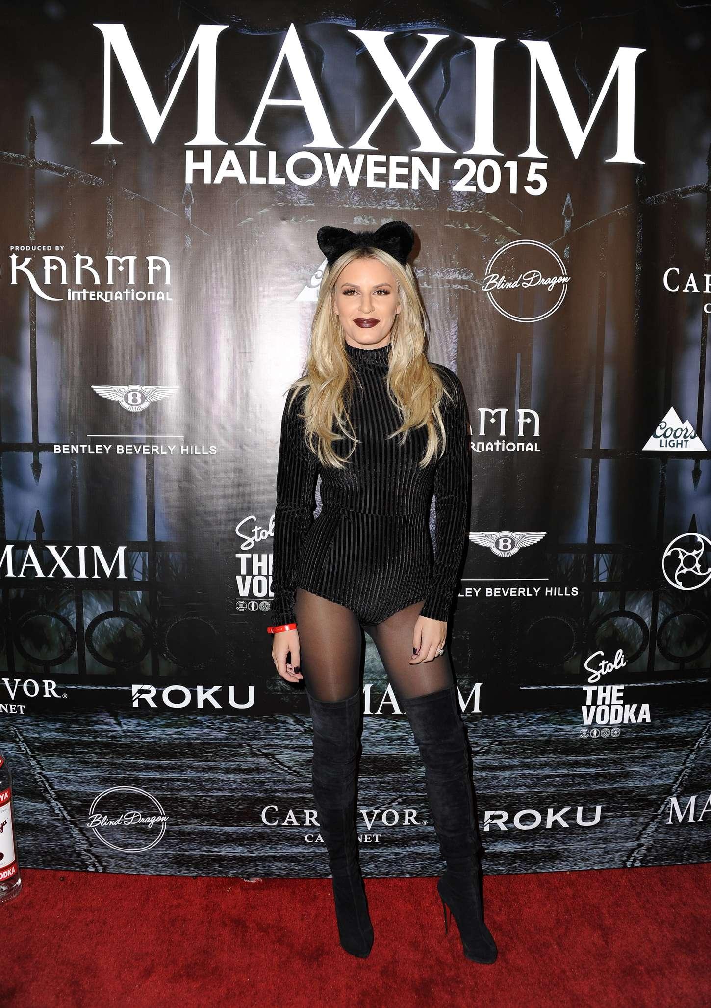 Morgan Stewart - MAXIM Magazine's Official Halloween Party in ...