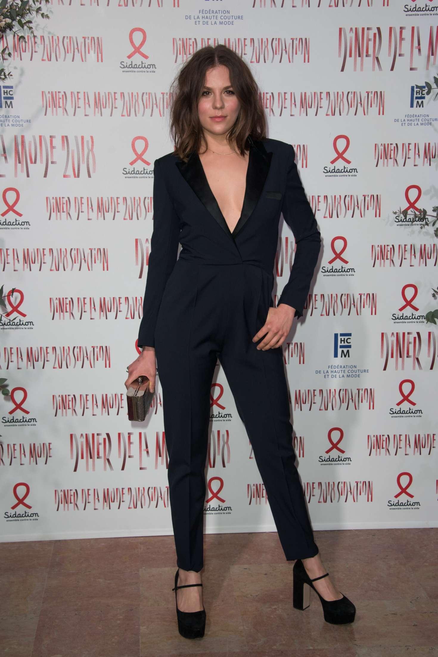 Morgane Polanski - 2018 Sidaction Gala in Paris