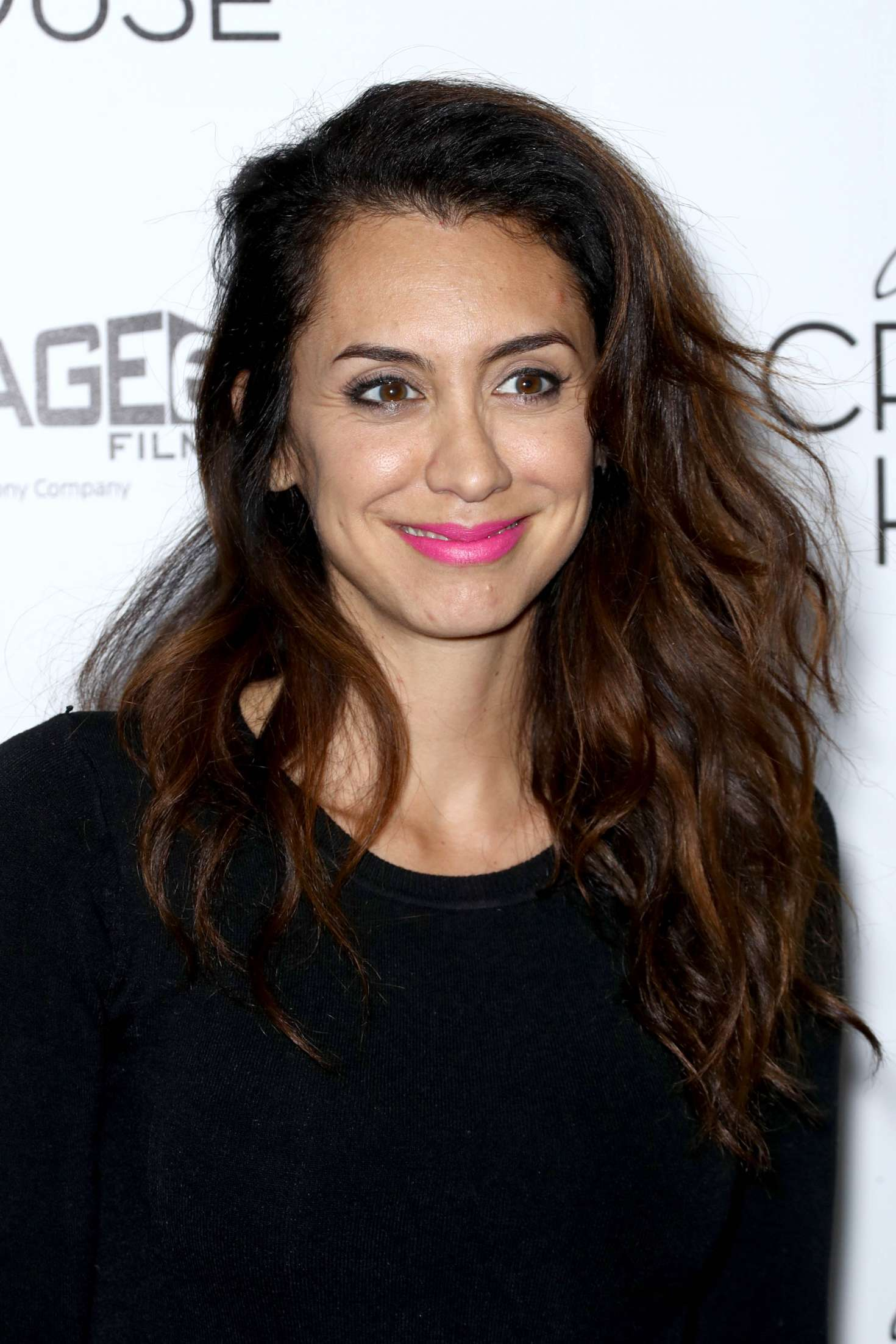 Mozhan Marno - Crooked House Premiere in NY - GotCeleb