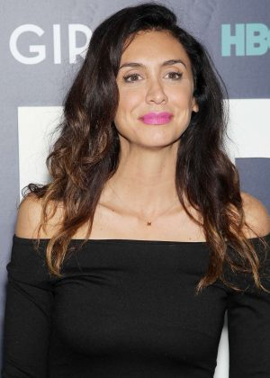 Mozhan Marno - 'Girls' Final Season Premiere in New York City