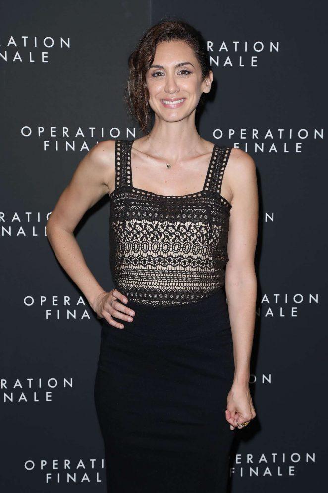Mozhan Marno - 'Operation Finale' Premiere in New York