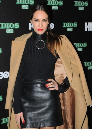 Muriel Ebright - 'Dios Inc' Original TV Series by HBO at Bar Americana in Mexico City