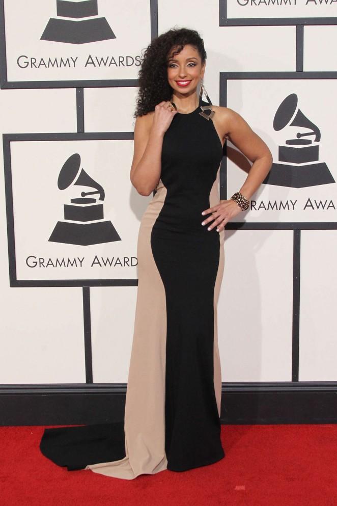 Mya - 2016 GRAMMY Awards in Los Angeles