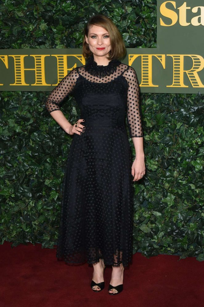 MyAnna Buring - Evening Standard Theatre Awards 2016 in London