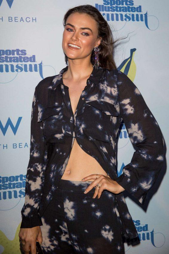 Myla De Blasio - 2019 Sports Illustrated Swimsuit Show in Miami