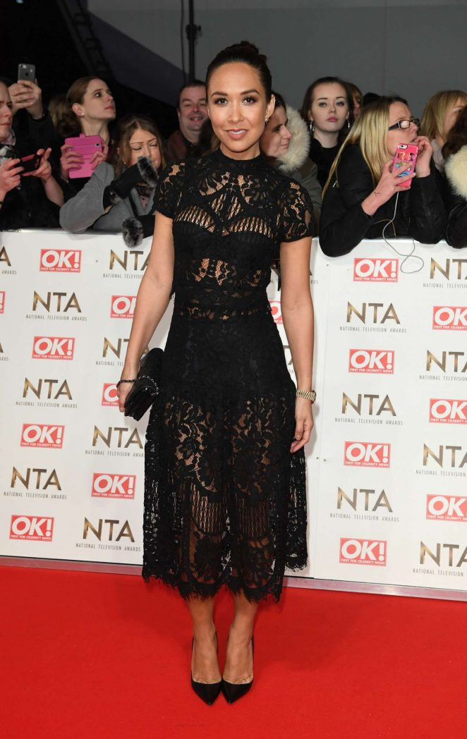 Myleene Klass - 2017 National Television Awards in London