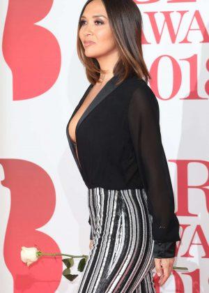Myleene Klass - 2018 Brit Awards in London