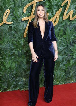 Myleene Klass - 2018 British Fashion Awards in London