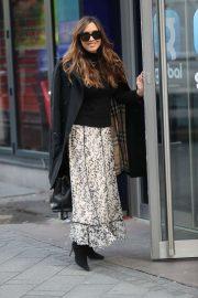 Myleene Klass - Arriving at Smooth Radio in London