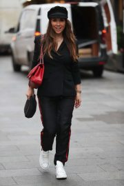 Myleene Klass - Arriving at the Smooth Radio in London