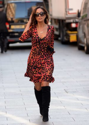 Myleene Klass - At Global House in London