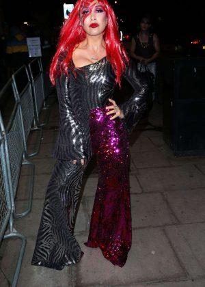 Myleene Klass at Halloween Party in London