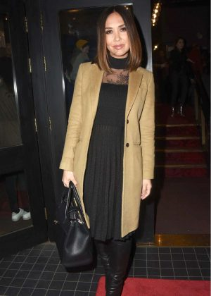 Myleene Klass - Cirque Berserk Play Press Night in London