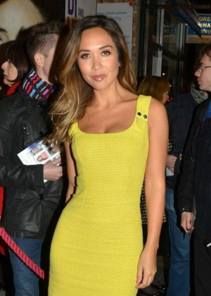 Myleene Klass - Di and Viv and Rose Press Night in London