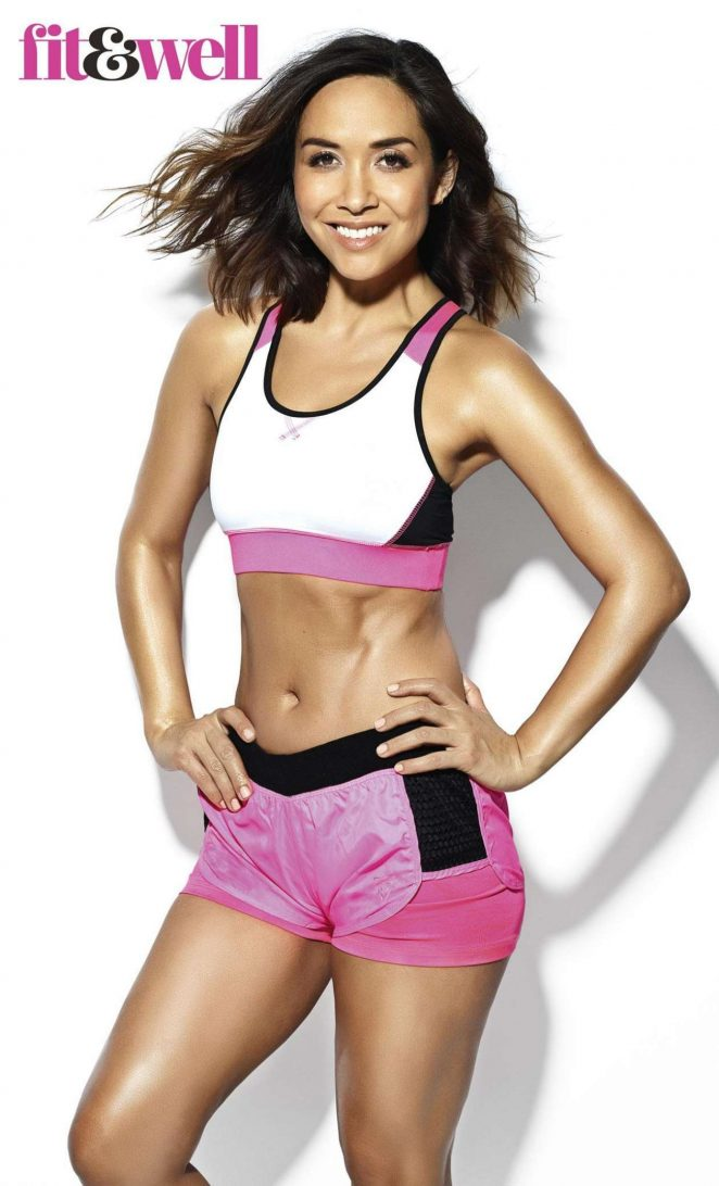 Myleene Klass - Fit and Well Magazine (April/May 2018)