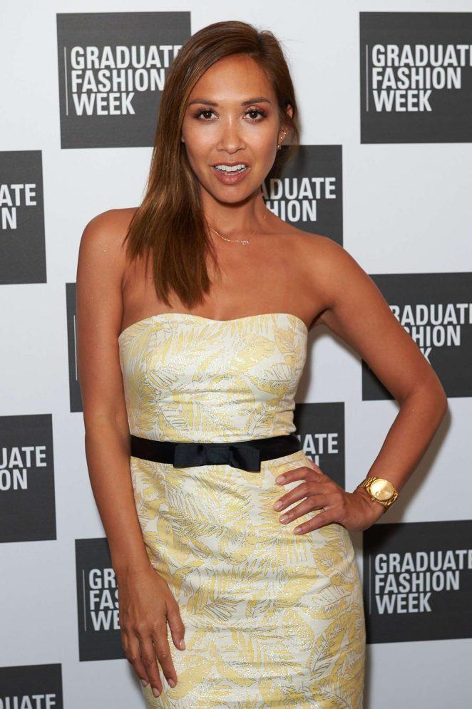 Myleene Klass - Graduate Fashion Awards in London