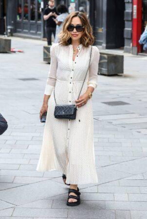 Myleene Klass - In a polka dot dress out in London 26.06.2021