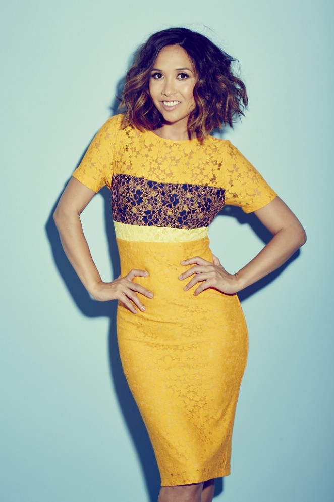 Myleene Klass - Notebook Magazine Studio Shoot (July 2015)