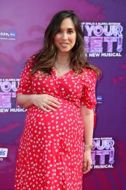 Myleene Klass - On Your Feet! A New Musical Press Night in London