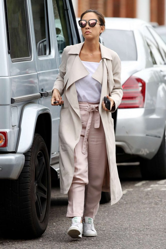 Myleene Klass ou in London