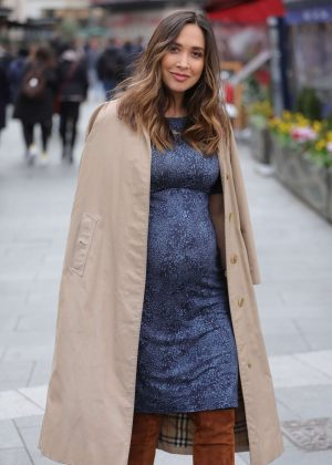 Myleene Klass - Out and about in London