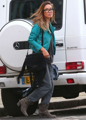 Myleene Klass - Out in London