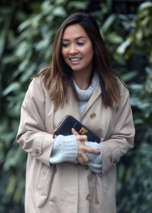 Myleene Klass - Out in North London