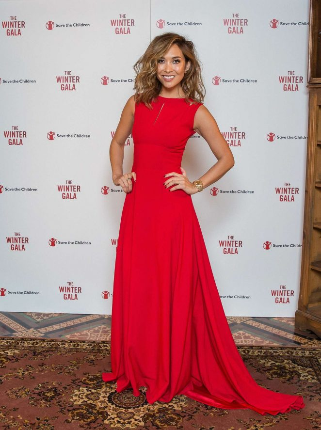 Myleene Klass - Save The Children Winter Gala in London