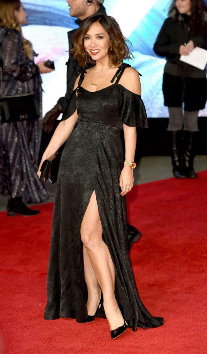 Myleene Klass – 'Star Wars: The Last Jedi' Premiere in London