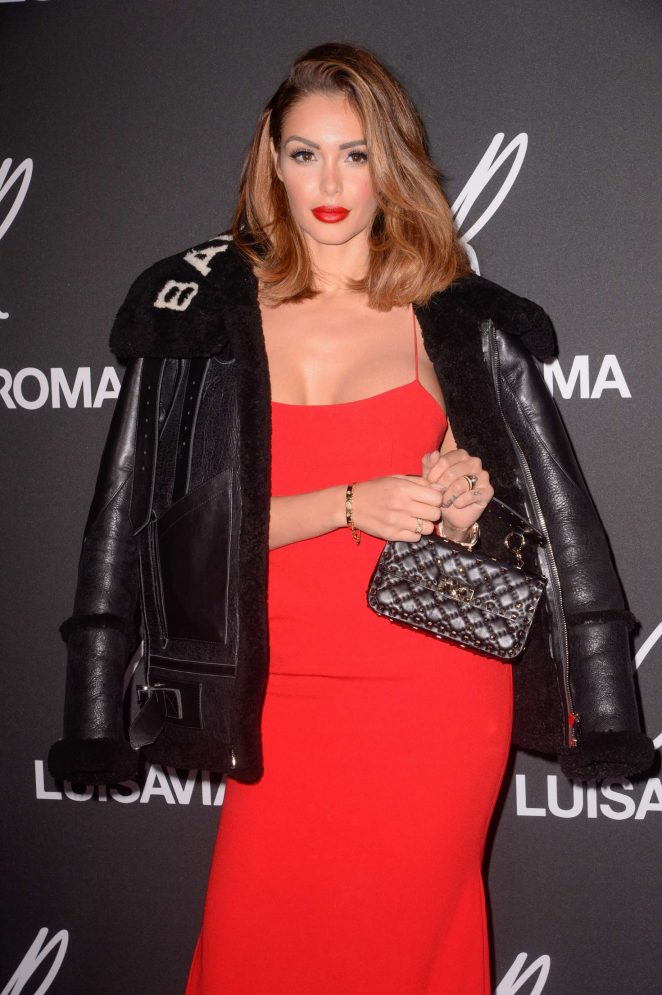 Nabilla Benattia - CR Fashion Book x Luisasaviaroma: Photocall in Paris