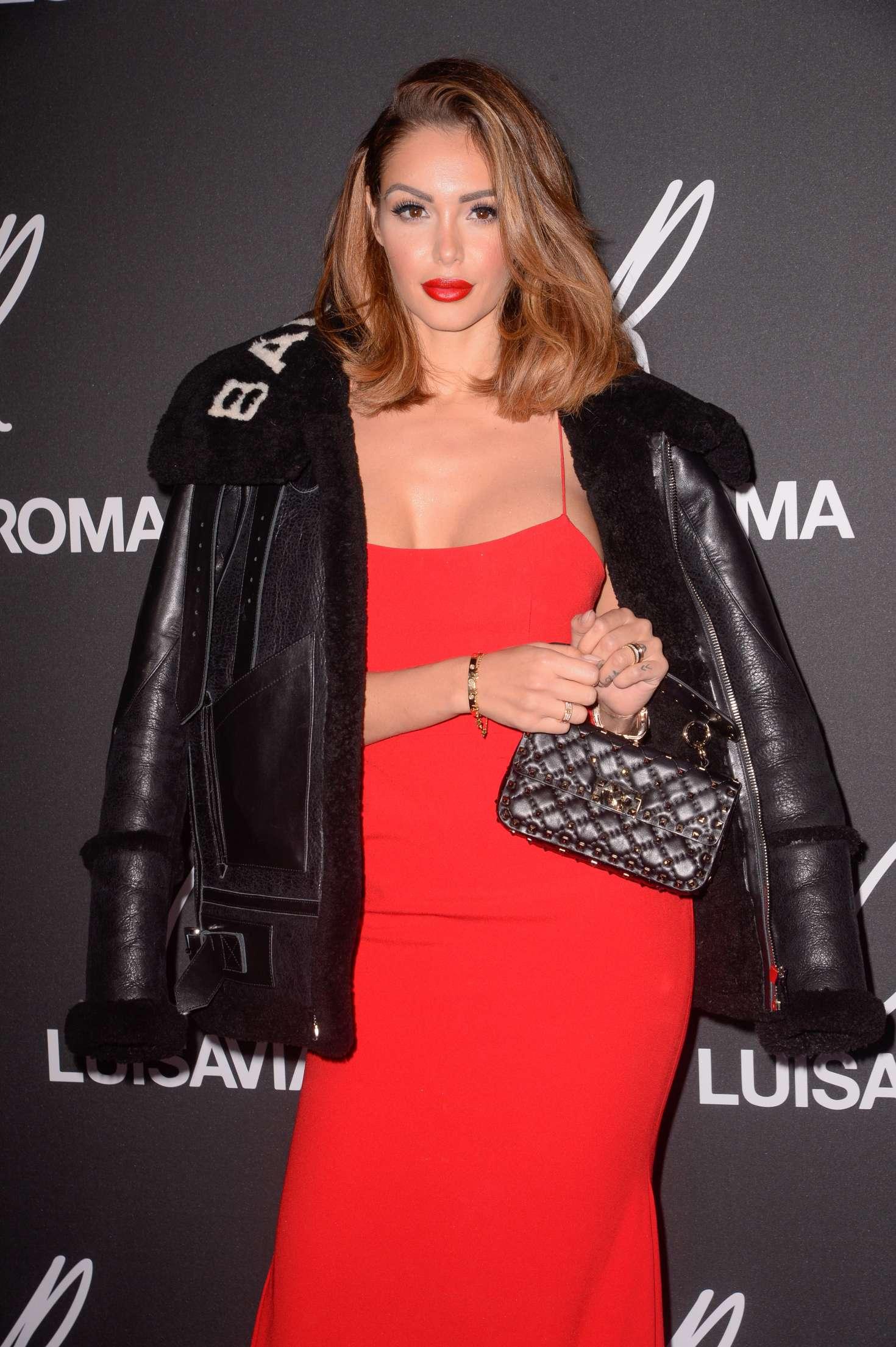 Nabilla Benattia - CR Fashion Book x Luisasaviaroma: Photocall in Paris